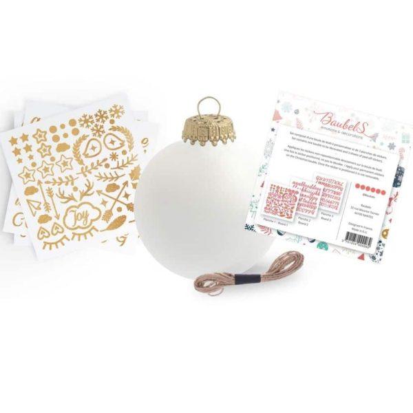 Kit DIY Stickers Boule de Noël – Baubels