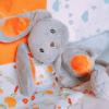 peluche Mandarine le lapin Ours Kiwi