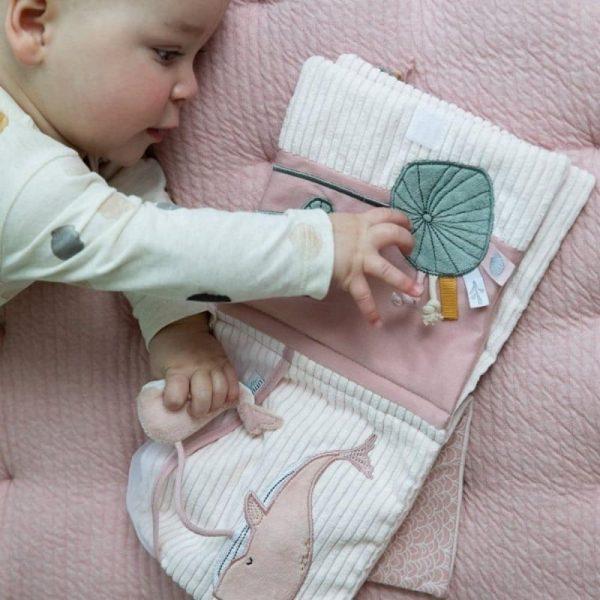 Livre tissu d'activités Ocean Pink - Little Dutch