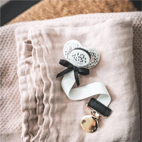attache tétine Precious Preppy - Elodie Details