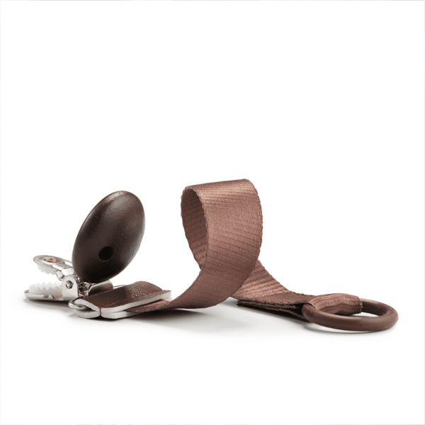 Attache tétine Bois Chocolate - Elodie Details
