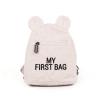 sac à dos my first bag teddy écru childhome