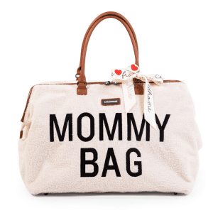 sac à langer Mommy Bag Teddy Ecru Childhome