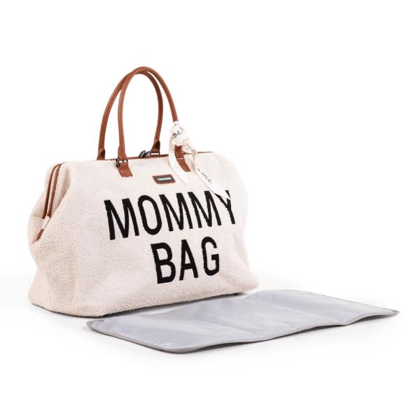 sac à langer Mommy Bag Teddy Ecru Childhome