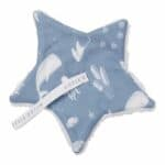 Doudou Attache tétine Ocean Blue - Little Dutch