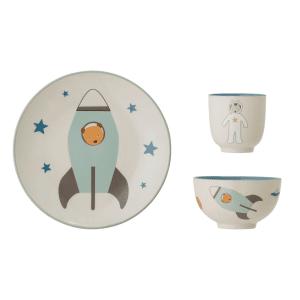 Set de vaisselle 3 pièces Espace - Bloomingville