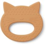 anneau de dentition silicone chat moutarde liewood