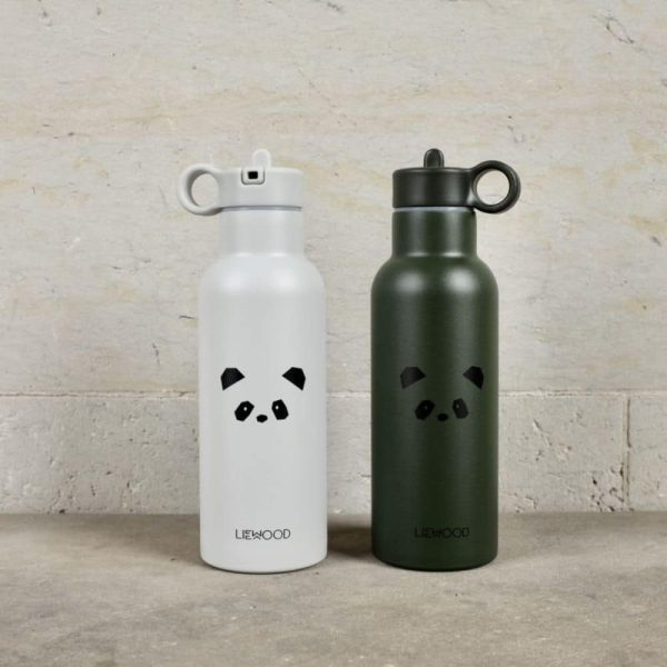 Gourde Isotherme Neo Panda Light Grey - Liewood