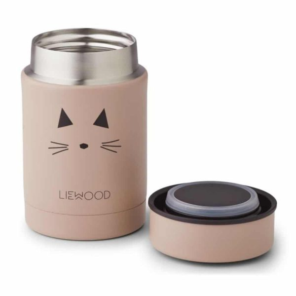 Thermos Alimentaire Nadja Cat Rose - Liewood