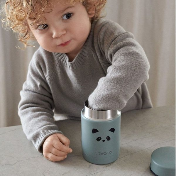 Thermos Alimentaire Nadja Panda Peppermint - Liewood