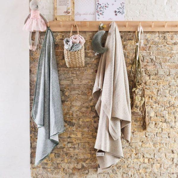 Couverture Bliss knit Nougat - Jollein