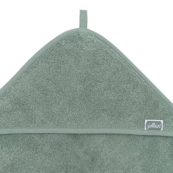 Cape de bain éponge Ash Green - Jollein