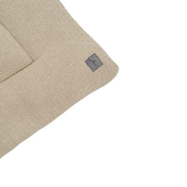 Tapis de parc Bliss knit Nougat & Teddy - Jollein