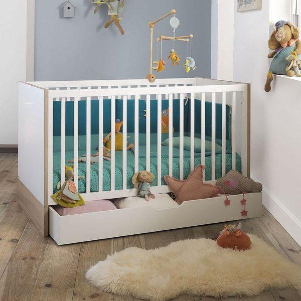 lit bébé évolutif lilo 70 x 140 cm – galipette