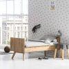 lit bébé évolutif vintage chêne 70 x 140 cm vox (2)