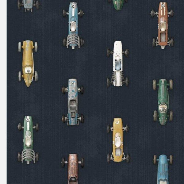 Papier peint Race Car Dark - Studio Ditte