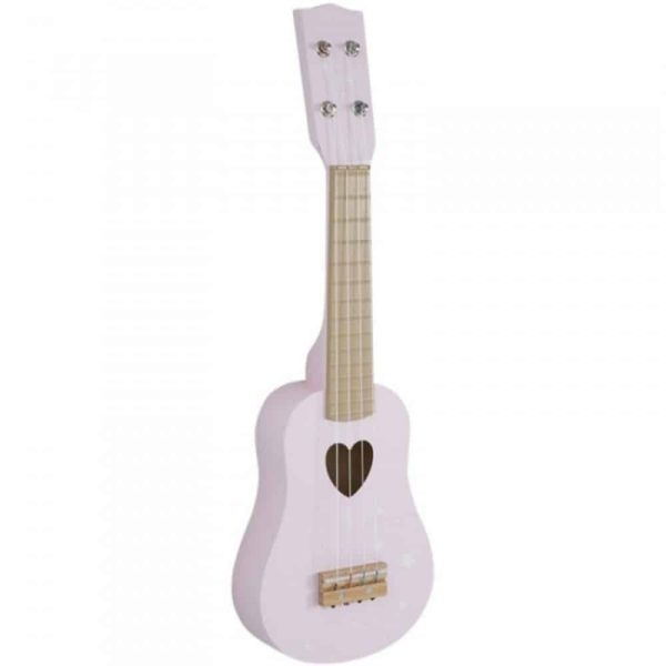 Guitare en Bois Adventure Pink - Little Dutch
