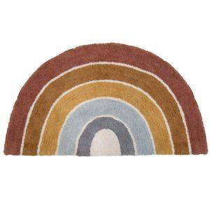 Tapis Rainbow Shape Pure & Nature 80 x 130 cm - Little Dutch