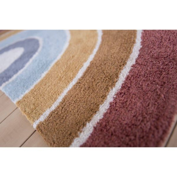 Tapis Rainbow Shape Pure & Nature 80 x 130 cm - Little Dutch