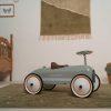 Porteur voiture Retro Roller Olive - Little Dutch