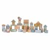 blocs de construction en bois bleu little dutch (1)