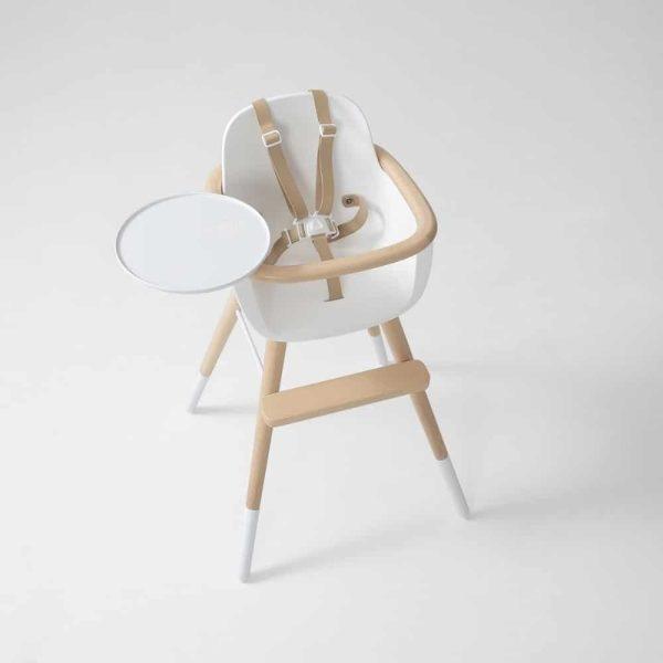 chaise haute ovo luxe one blanche micuna (6)