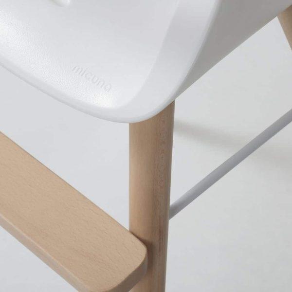 chaise haute ovo plus one blanche micuna (2)