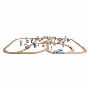 circuit train en bois xxl little dutch (1)