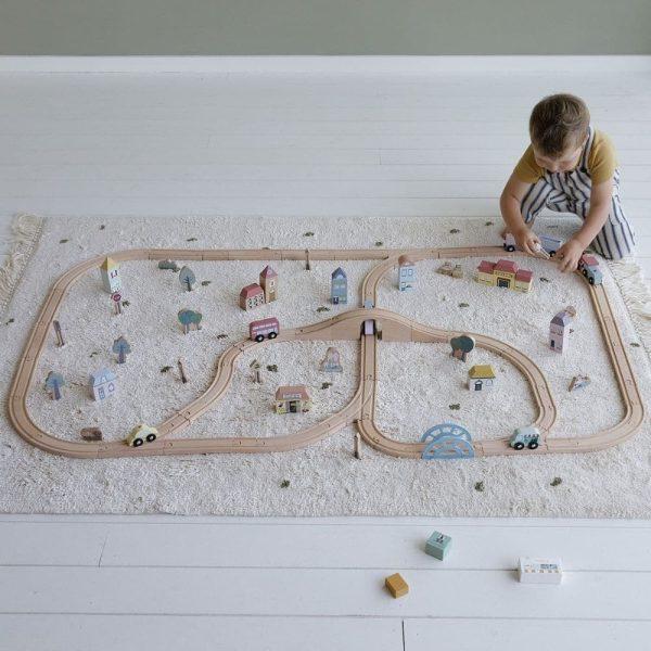 circuit train en bois xxl little dutch (4)