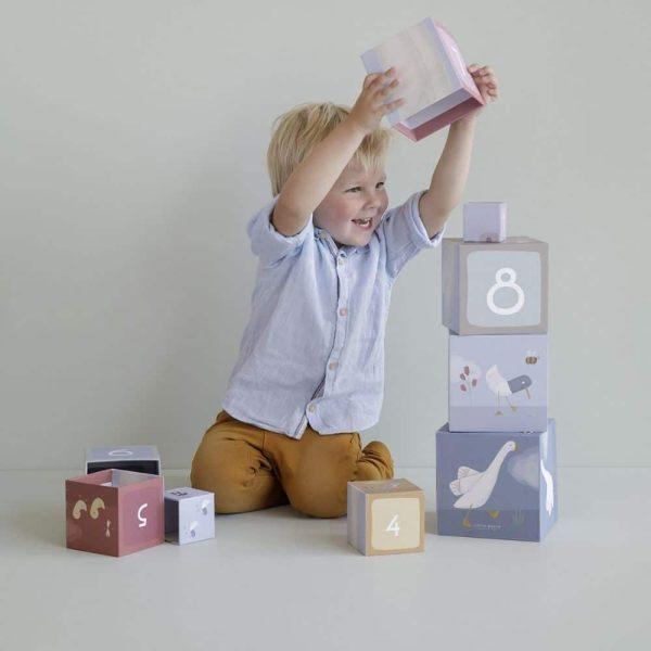 cubes à empiler oie little goose – little dutch (5)