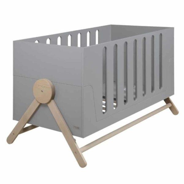 lit bébé évolutif swing gris 70 x 140 cm micuna (3)