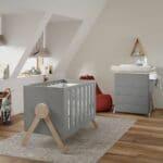 lit bébé évolutif swing gris 70 x 140 cm micuna (5)