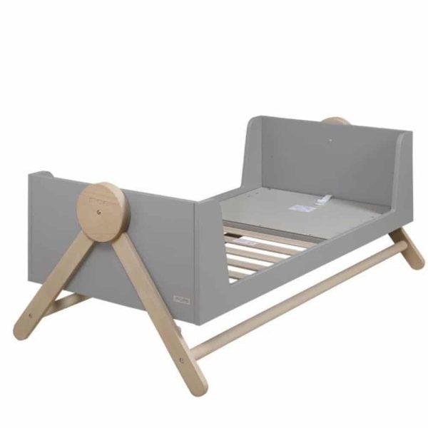 lit bébé évolutif swing gris 70 x 140 cm micuna (6)