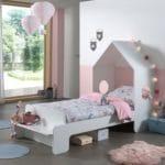 lit cabane casami 90 x 200 cm blanc – vipack