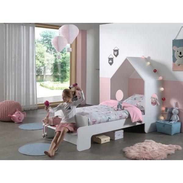 lit cabane casami 90 x 200 cm blanc – vipack (2)