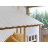 lit cabane housebed 90 x 200 cm blanc & bois vipack (1)