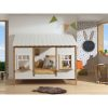 lit cabane housebed 90 x 200 cm blanc & bois vipack (3)