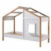 lit cabane en bois babs 90 x 200 cm