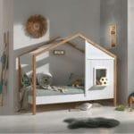 lit cabane en bois babs 90 x 200 cm vipack