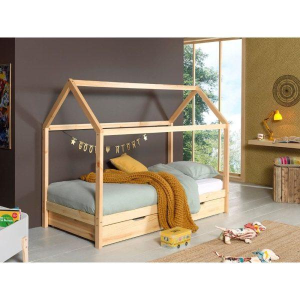 lit cabane en bois dallas 90 x 200 cm – vipack (2)