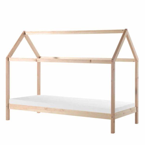 lit cabane en bois dallas 90 x 200 cm – vipack