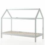 lit cabane en bois dallas 90 x 200 cm blanc – vipack (1)