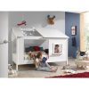 lit cabane en bois housebed 90 x 200 cm vipack (4)