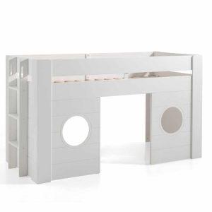lit cabane mi hauteur freya 90 x 200 cm blanc – vipack (8)