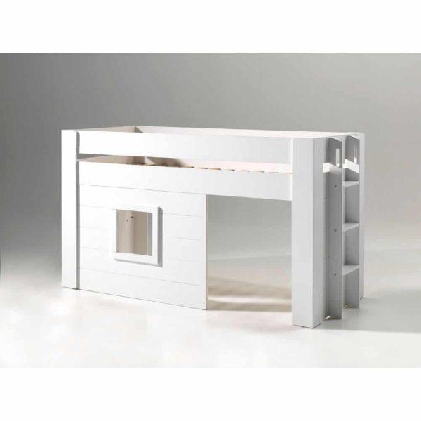 lit cabane mi hauteur noah 90 x 200 cm blanc – vipack (5)