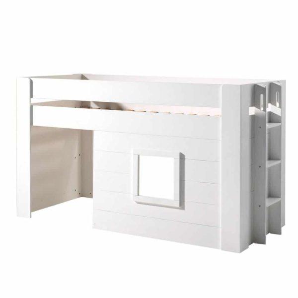 lit cabane mi hauteur noah 90 x 200 cm blanc – vipack (8)