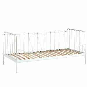 lit enfant alice 90 x 200 cm métal blanc (1)