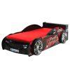 lit enfant voiture de course noir & rouge (1)