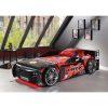 lit enfant voiture de course noir & rouge (5)