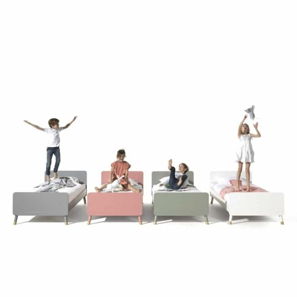 lit enfant en bois billy 90 x 200 cm blanc satin vipack (2)
